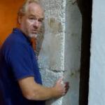 Muro in calce e canapa