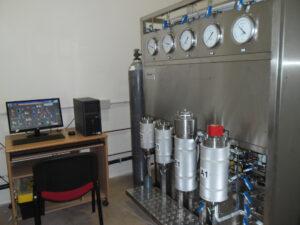 L'impianto pilota per estrazione con fluidi supercritici