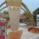 Struttura canapa, calce, canne e pietra