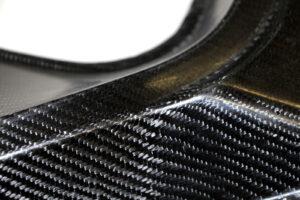 Componente in carbonio rinforzato con fibra di canapa © Fraunhofer WKI