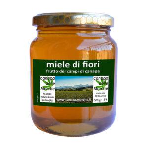 Il miele di canapa dell'azienda agricola Venturini Antonio