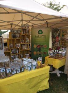 Salute Sativa stand