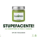 Canapera: dalla Sardegna la confettura di pera e canapa